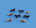 5102 Modelscene: OO ANIMALS  Dogs